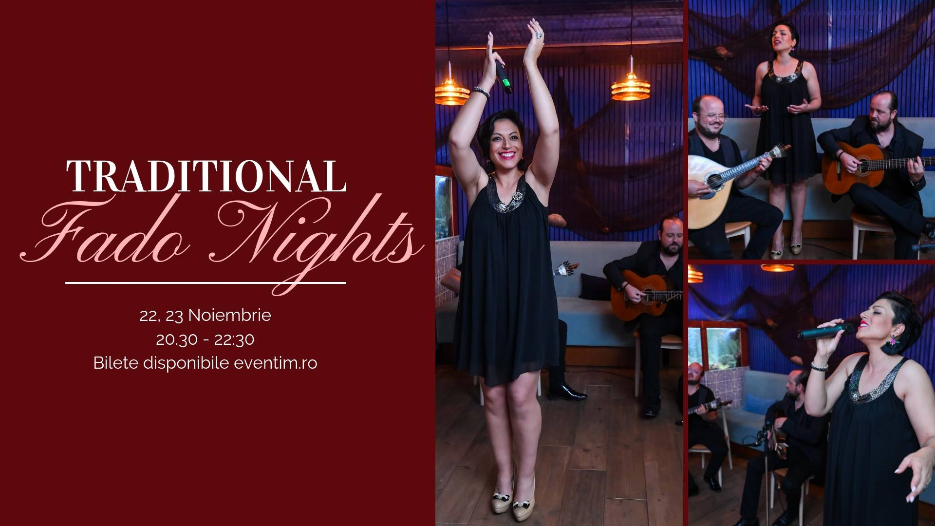 Fado Nights in Bucharest - 22, 23 noiembrie