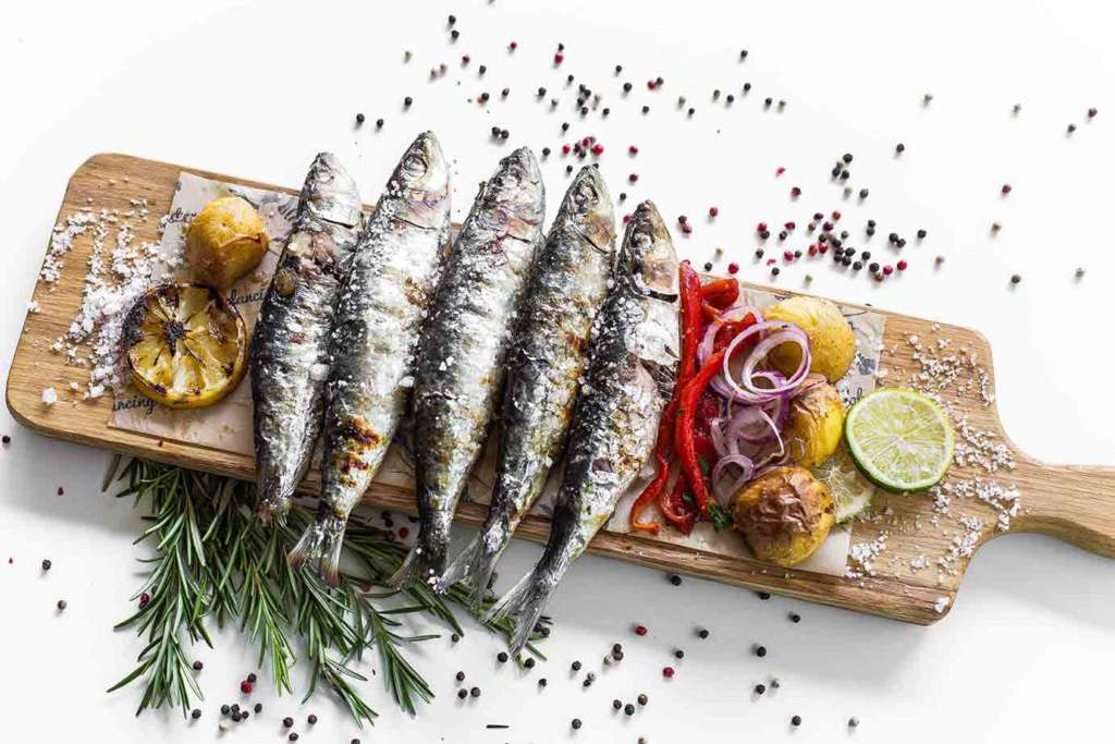 sardine proaspete
